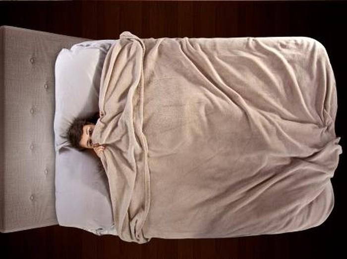 Masalah terpendam yang menekan mental seseorang dapat berhubungan dengan sleep paralysis atau ketindihan. (Foto: thinkstock)