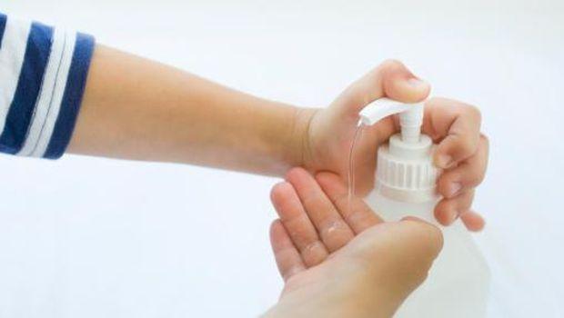 ilustrasi cuci tangan yang benar/