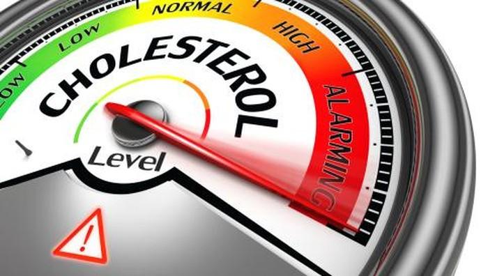 Ilustrasi level kolesterol.