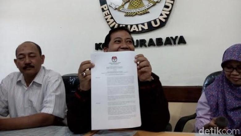 Baru 3 Parpol yang Daftar Peserta Pemilu 2019 di KPU Surabaya