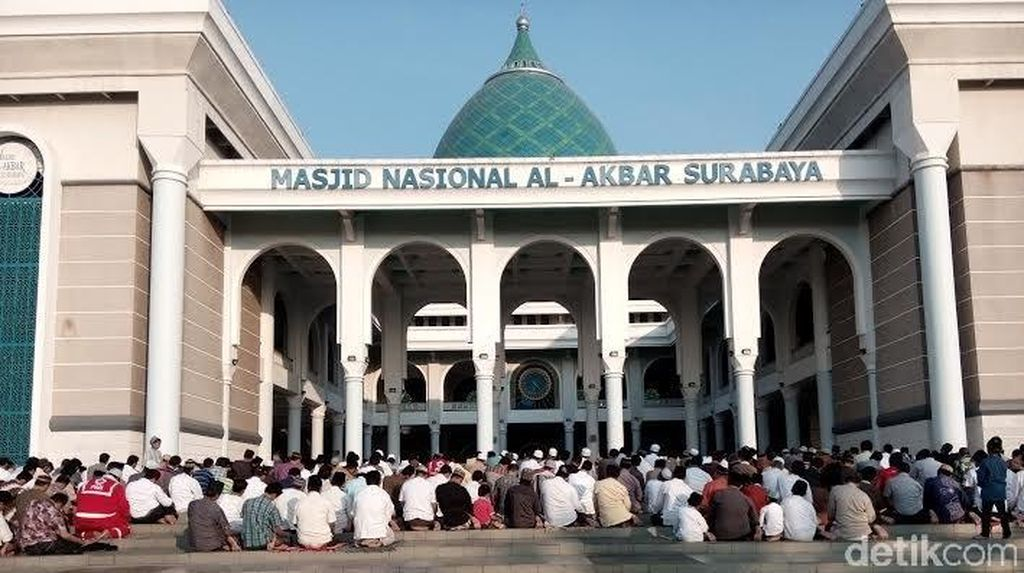 NU dan Muhammadiyah di Surabaya Salat Id Besok, Ini Lokasinya