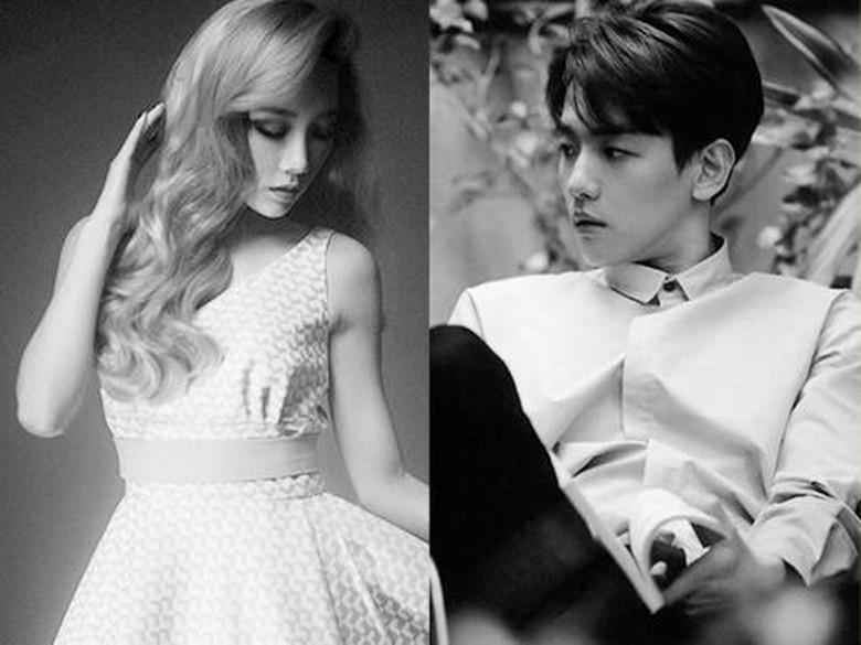Foto: Kim Taeyeon dan Byun Baekhyun (SM Entertainment)