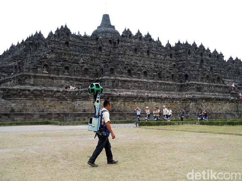 Keren Jelajahi Candi Borobudur Bisa Lewat Google Maps