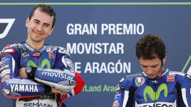 Lorenzo sudah berseteru dengan Rossi sejak keduanya di Yamaha.