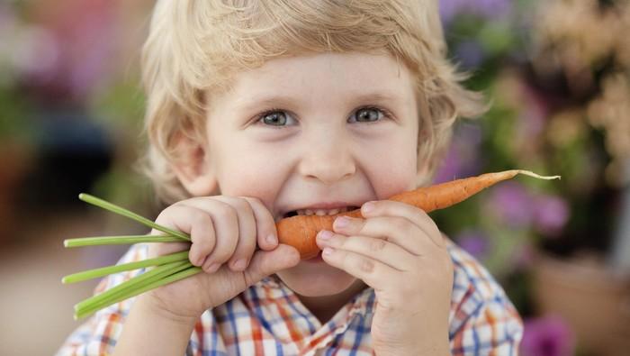 Banyak yang menyarankan agar rutin mengonsumsi wortel untuk menyembuhkan mata minus. (Foto: Thinkstock)