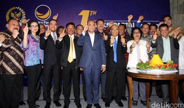 Nasdem: Pastilah Jokowi Siap-siap Hadapi Pilpres 2019