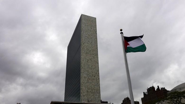 Bendera Palestina Berkibar di PBB, Abbas: Ini Untuk Para Martir