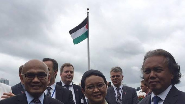 Menlu Retno: Indonesia Tetap Perjuangkan Kemerdekaan Palestina