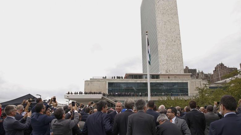 Bendera Palestina Berkibar di PBB, Ini Komentar Pemimpin Hamas
