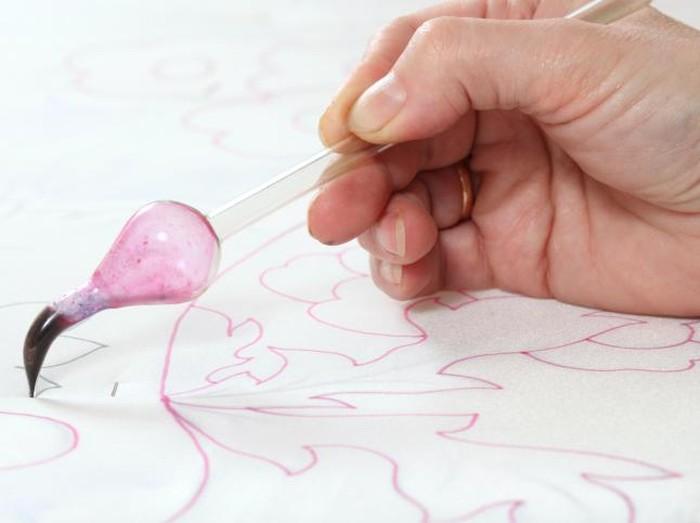 Ilustrasi membuat kain batik. Foto: thinkstock