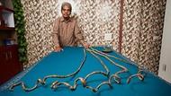 Bayangkan! Pria Ini Pensiun Punya Kuku Terpanjang di Dunia