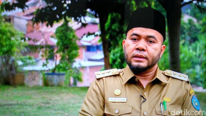 Wali kota Bengkulu Helmi Hasan