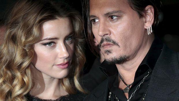 Kasus perceraian dengan Amber Heard sempat membuat Johnny Depp frustasi.