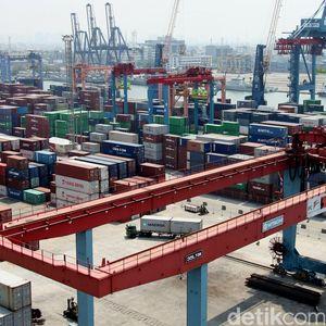 Impor Indonesia US$ 17,6 M di Oktober, Bengkak 23%