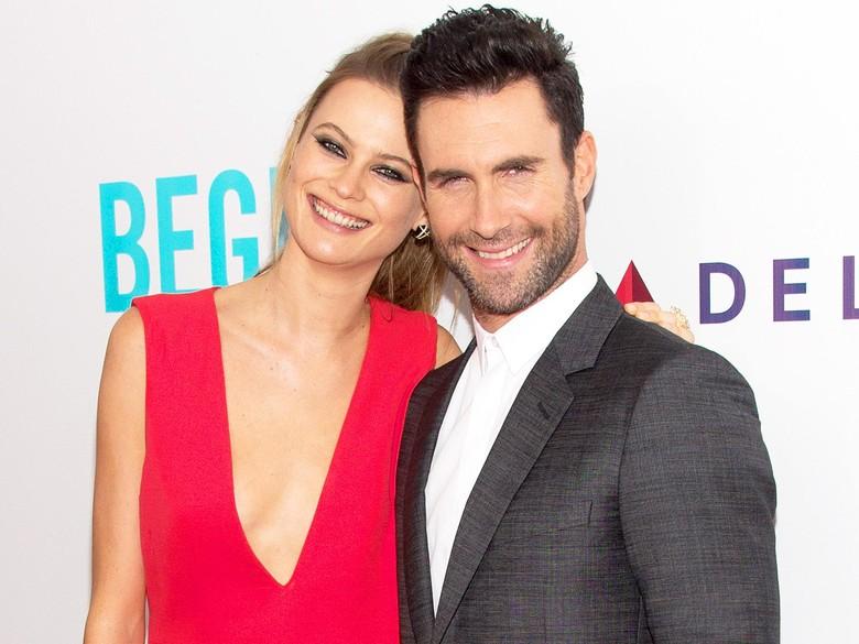 Adam Levine Aniaya Istri dan Putrinya? Ah Gosip!
