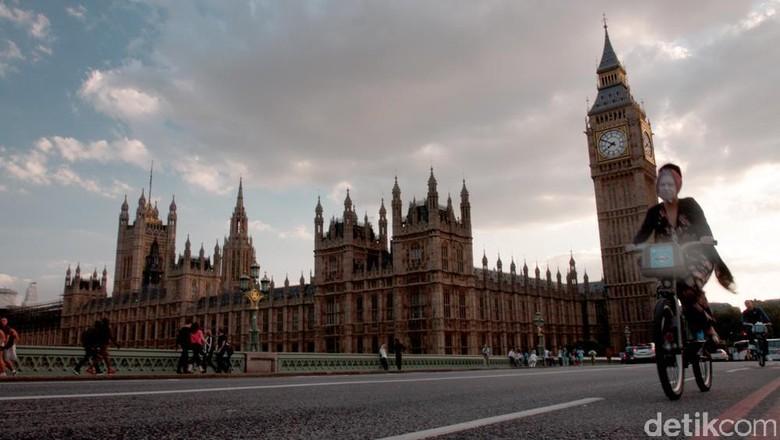 Ilustrasi kota London, Inggris