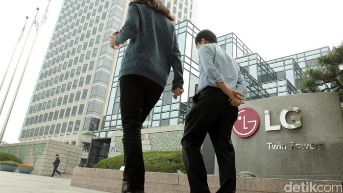 LG Twin Tower, kantor pusat LG di Seoul, Korsel