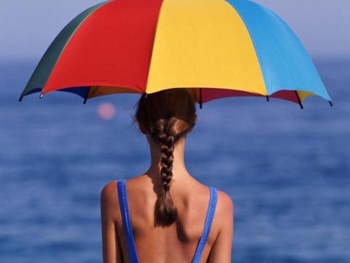 Ilustrasi berjemur untuk mendapatkan vitamin D. Foto: thinkstock