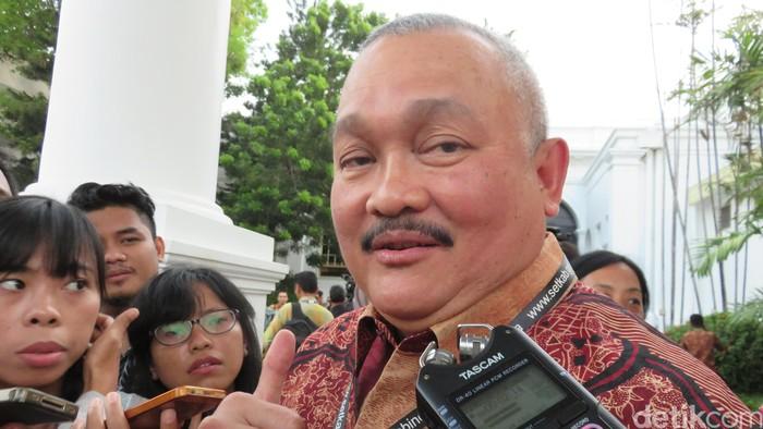 Alex Noerdin di Istana Negara Jakarta
