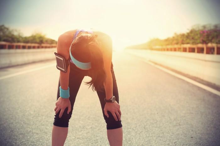 Kemampuan tubuh memetabolisme oksigen, dikenal dengan istilah VO2max, akan berkurang dalam 1-2 pekan setelah berhenti berolahraga. Fungsi jantung juga menurun, teramati dengan denyut yang berkurang 4-15 bpm (beat per minute). Sederhananya, fungsi kardiovaskular menurun. Foto: Thinkstock