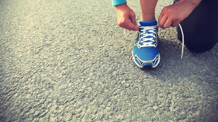 Kegiatan berlari
