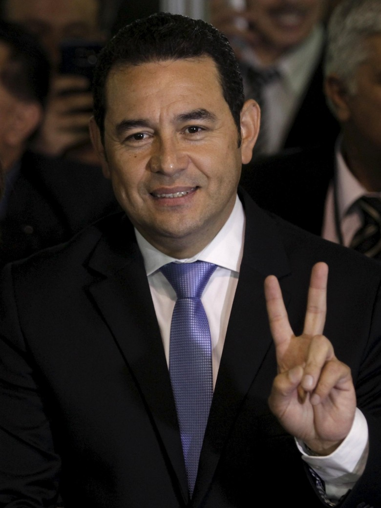 Aktor Komedi Jimmy Morales Terpilih Jadi Presiden Guatemala
