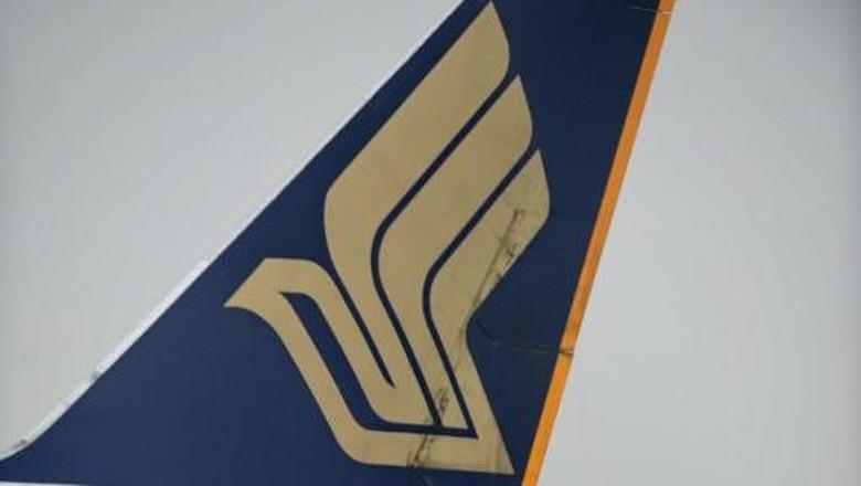 Dekompresi Kabin, Singapore Airlines Tujuan Paris Balik ke Changi