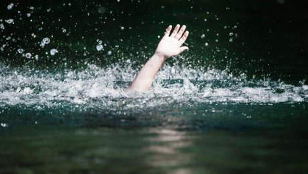 Kelelahan Berenang di Sungai Rokan Riau, Pelajar SMA Hanyut
