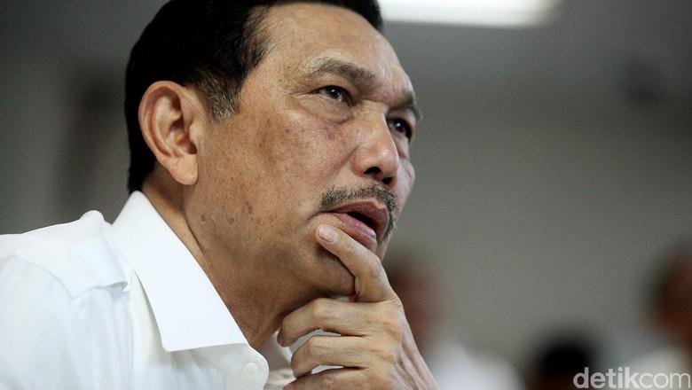 4 Tahun Jokowi, Luhut Singgung Masalah Sektor Kelautan