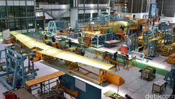 Pemerintah Buka Opsi Bikin KEK Khusus industri Pesawat Terbang