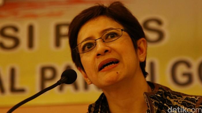 Politikus Golkar Nurul Arifin. Agung Pambudhy/detikcom.