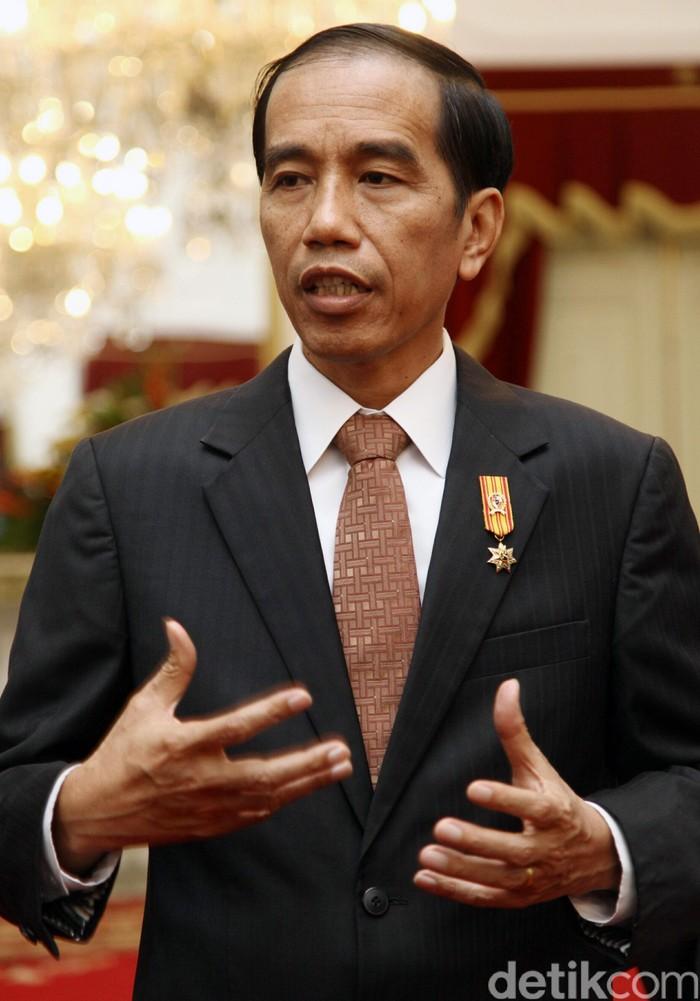 Presiden Joko Widodo (Jokowi) (Agung Pambudhy/detikcom)