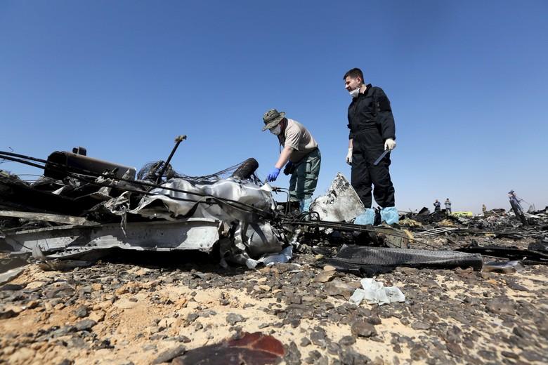 2 Karyawan Bandara Mesir Diduga Kuat Memuat Bom ke Pesawat Metrojet