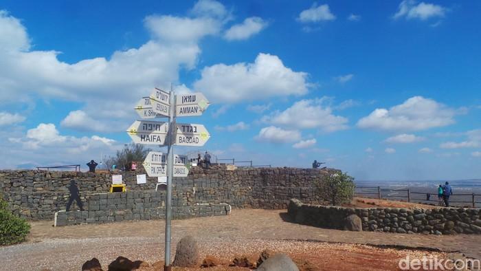 Dataran Tinggi Golan (Foto: Erwin Dariyanto-detikcom)
