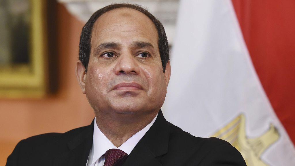 Presiden Mesir Cabut Keadaan Darurat Setelah 4 Tahun Lebih