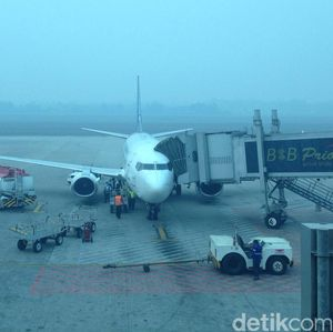 Penerbangan di Palembang Ditunda Sejak Jam 6 Pagi