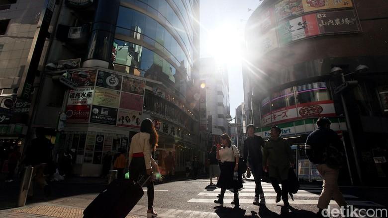 Perempatan Shibuya di Tokyo (Rengga Sancaya/detikcom)