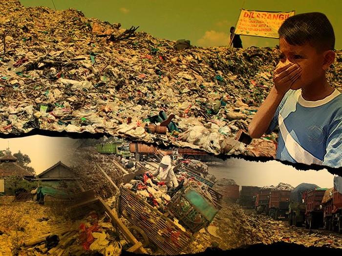 Ilustrasi Pencemaran Sampah