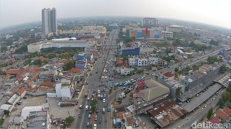 Jalan Margonda Depok Foto: Dok detikcom