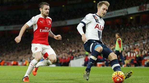 Christian Eriksen tidak pernah merasakan satu tim dengan Gareth Bale di Tottenham Hotspur.
