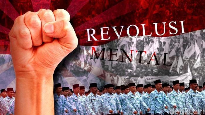 Foto: Ilustrasi Revolusi Mental (Subastian Basith)