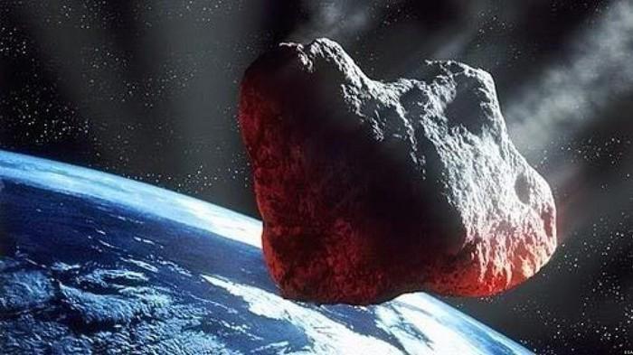 Ilustrasi asteroid menuju Bumi. Foto: NASA