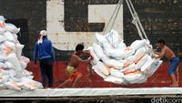 5.500 Ton Beras dari Thailand Masuk RI Pekan Ini