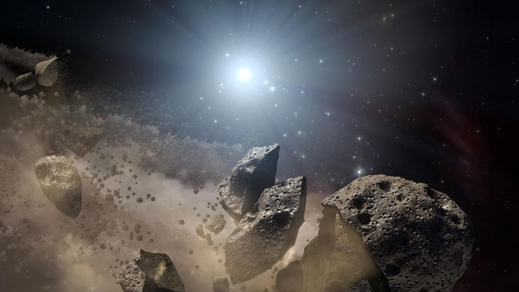 Asteroid Berpotensi Tabrak Bumi, Perlukah Khawatir?