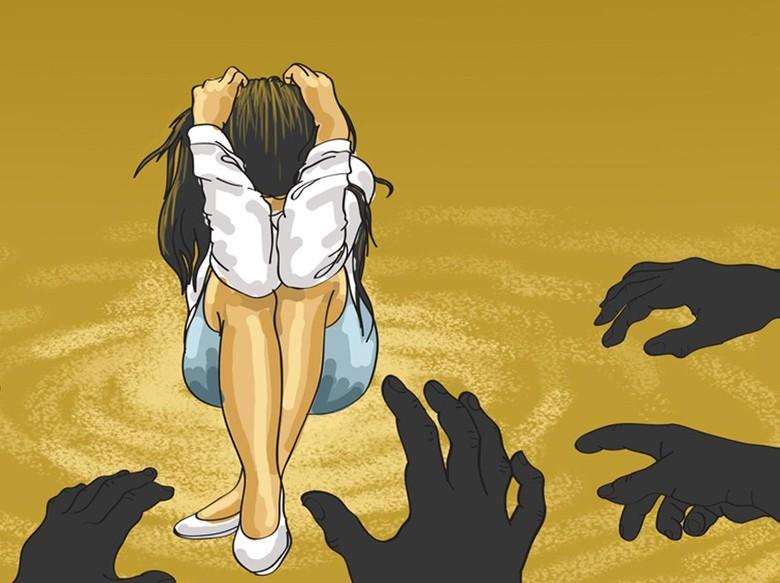 Wanita India Diperkosa Bergiliran di Hadapan Suaminya