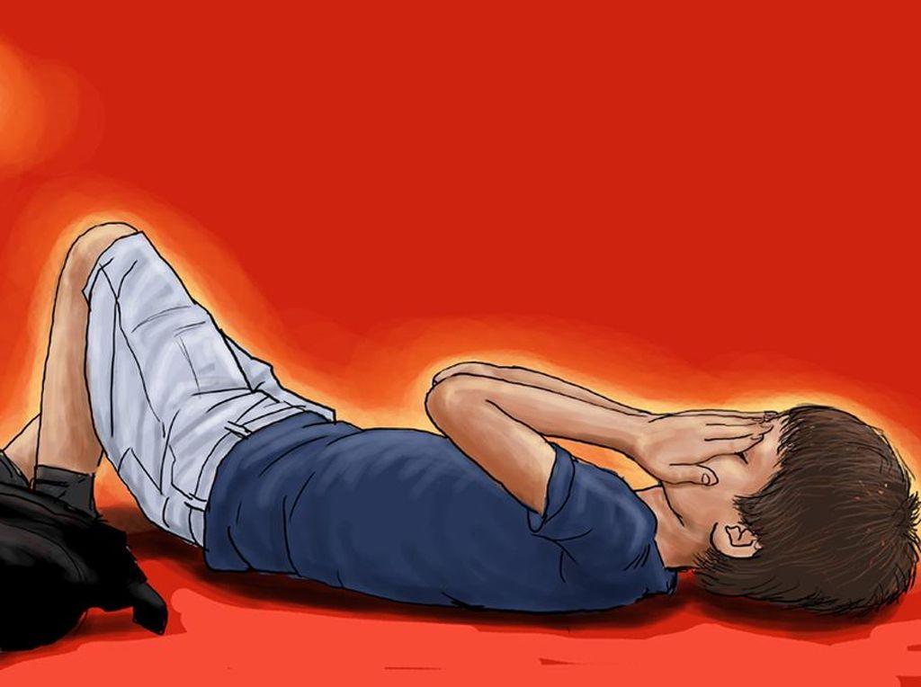 Ayah Penendang Anak di Depok Pernah Ancam Bunuh Korban Sambil Divideokan
