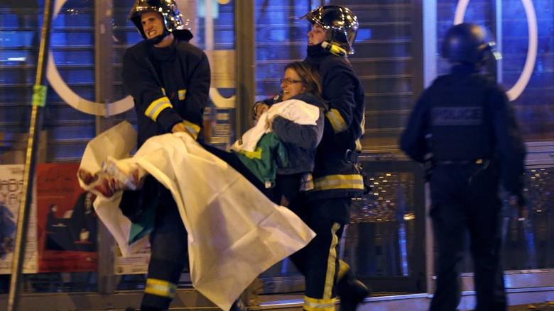 Kronologi Berbagai Penembakan dan Ledakan di Paris dalam Semalam