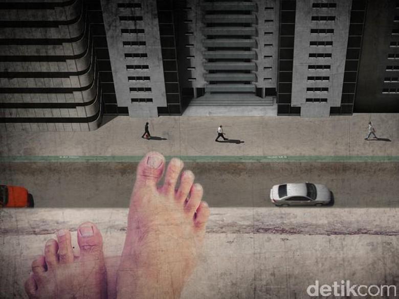 Pria Coba Bunuh Diri dari Lantai 23 Apartemen di Jakarta Barat