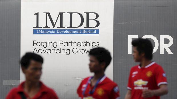 Logo 1 Malaysia Development Berhad (1MDB), Malaysia, 2015.