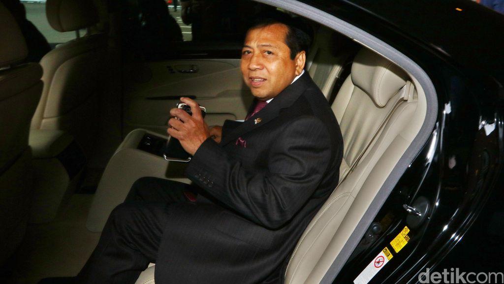Mobil yang Mungkin Dipakai Setya Novanto Menghilang Semalam